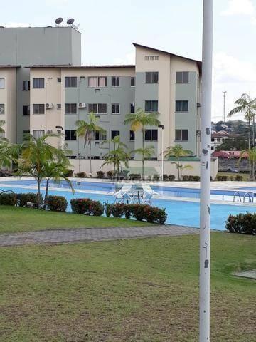 Apartamento Com 3 Dormitórios Para Alugar, 69 M² Por R$ 1.300,00/mês - Santa Etelvina - Manaus/am - Ap2966