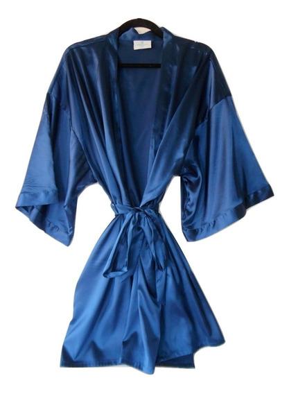 Ropa Para Dormir Señora Bata Kimono Satin Talla Extra