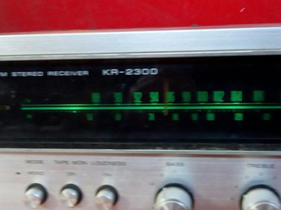 Antigo Rádio Am Fm Estéreo Receiver Jr - 2300 Kenwood Não Fu