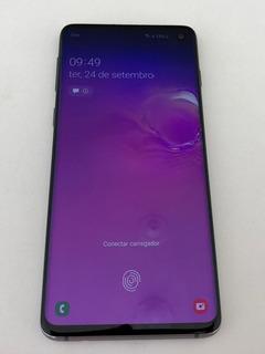 Galaxy S10 128gb Cinza Ótimo Estado