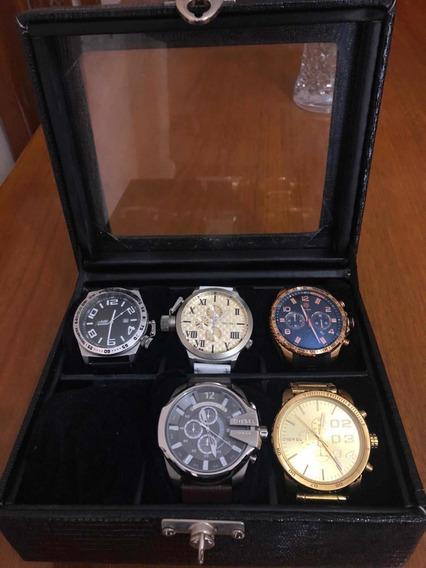 Relógios + Caixa