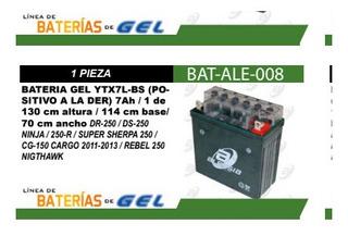 Bateria Acido Ytx7l-bs (positivo A La Der)+envio Gratis