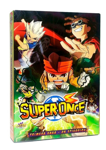 Super Once Inazuma Eleven Primera Saga 1 Uno Dvd