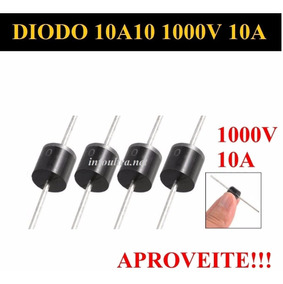 10 Unidades, Diodo 10a10 1000v 10a Diodo Mic Original...