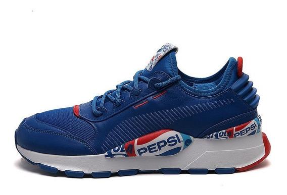 Puma Tenis Lifestyle Azul Puma Rs-0 X Pepsi (105v)