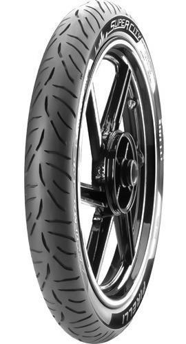 Pneu Dianteiro 60/100-17 Pirelli Super City 33l Biz 125 100