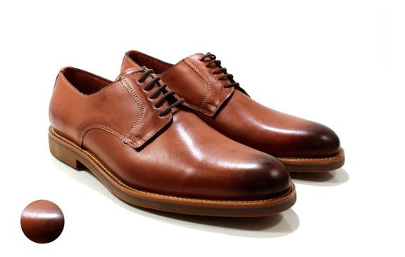 Zapato Hombre Cuero Color Suela Diseño Emilio By Ghilardi