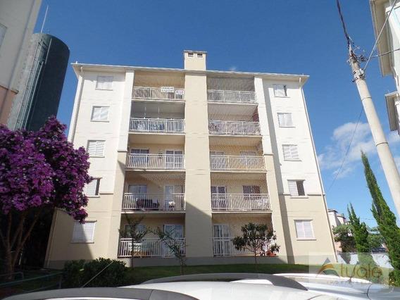 Apartamento Com 2 Dormitórios À Venda, 58 M² - Condomínio Avalon - Hortolândia/sp - Ap1694