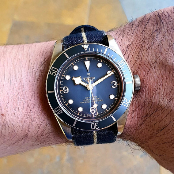Tudor Black Bay Bronze M79250ba-0002 Full Set