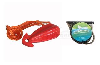 Manillar Aquafloat + Triangulo Para Ski Juegos Arrastre Kit