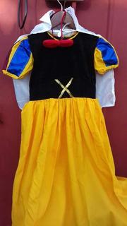 Hermoso Vestido Blanca Nieves Talla 6 Original De Razo