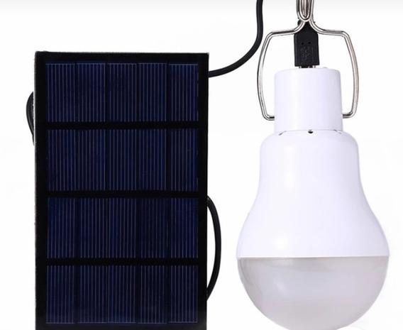 Lâmpada Solar Led Pendente Interna
