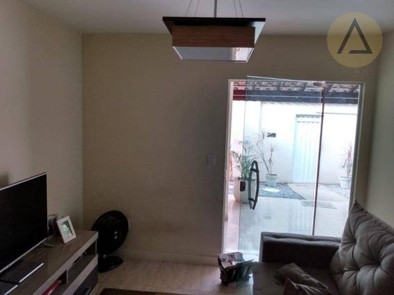 Casa Com 3 Dormitórios À Venda, 118 M² Por R$ 270.000 - Novo Visconde - Macaé/rj - Ca0928