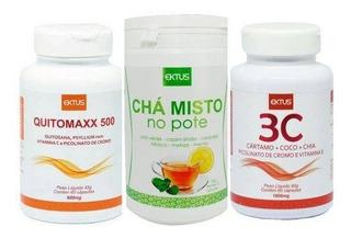 Kit Verão Ektus Chá Misto + 3c + Quitomaxx500