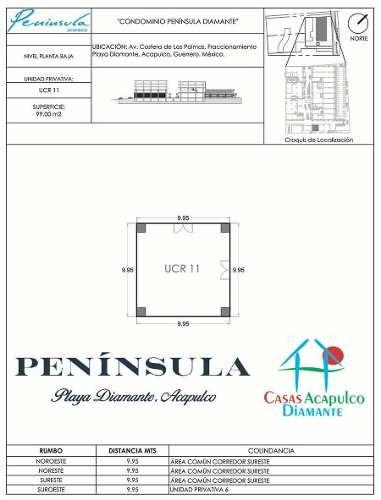 Cad Condominio Península Local A1. En Esquina. Doble Acceso
