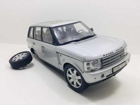 Miniatura Land Rover Range Rover 2003 Prata Welly 1/18