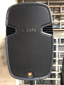 Caixa Jbl Eon 515 Usada Com Capa E Pedestal De Brinde