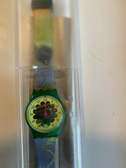 Relogio Swatch,anos 90.na Caixa, Sem Uso. 3 Pecas Por 550