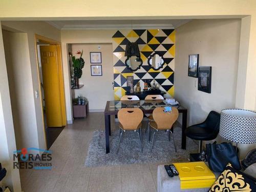 Apartamento Com 3 Dormitórios À Venda, 68 M² Por R$ 398.000,00 - Jardim Das Vertentes - São Paulo/sp - Ap16073
