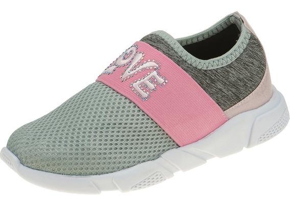 Sapato Sapatenis Tenis Infantil Feminino Love Frete Gratis