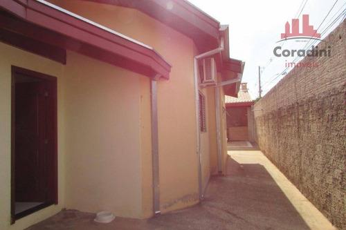 Imagem 1 de 19 de Casa Residencial À Venda, Jardim Monte Das Oliveiras, Nova Odessa. - Ca1618