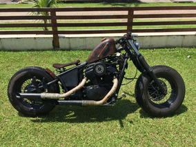 Honda Shadow 600 Bobber Rat Rod Hot Rod Chopper Customizada