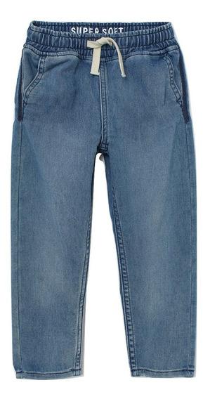 Jogger De Jeans Importado H&m Niño