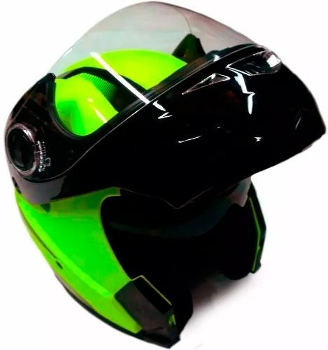 Casco Hawk Rs5 Vector Rebatible Doble Visor M Full Fas Motos