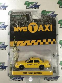 Ford Crown Victoria Taxi New York Nova Iorque Ny Greenlight