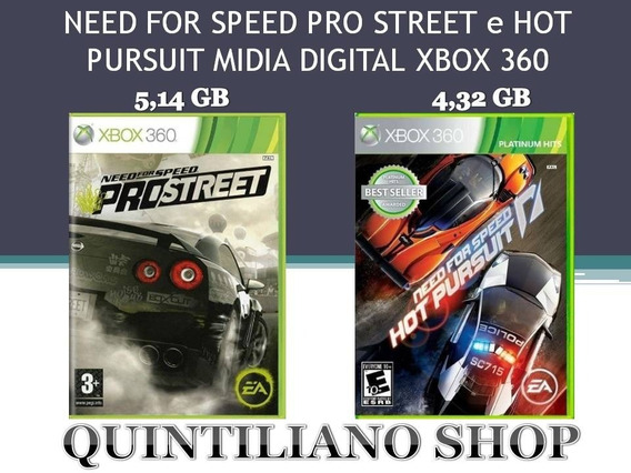 Need For Speed Midia Digital Xbox 360