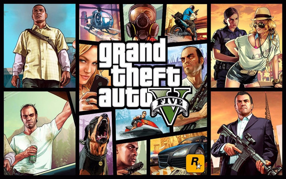 Gta V 5 Xbox One Mídia Física Pronta Entrega