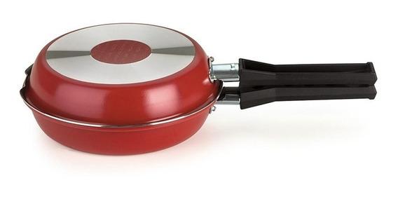 Omeleteira Multiflon Paprika 14cm Vermelha Multiflon
