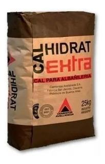 Cal Hidrat 25 Kg Proyectar Materiales