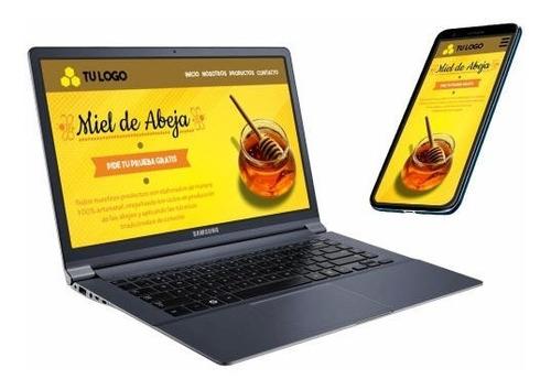 Página Web Tienda En Linea, Reservas, Hosting Y Dominio