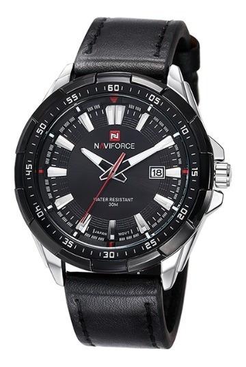 Relógio Analógico Naviforce Preto Nf9056b Ce