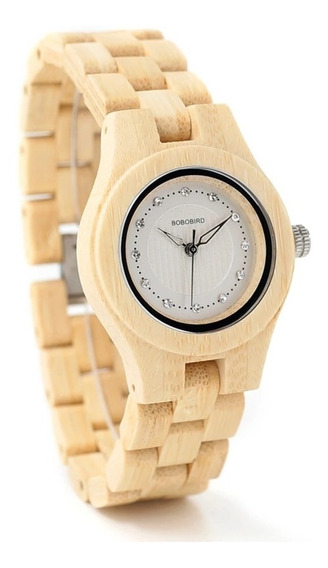 Reloj De Madera Bobo Bird 100% Original Para Dama Y01 Nuevo