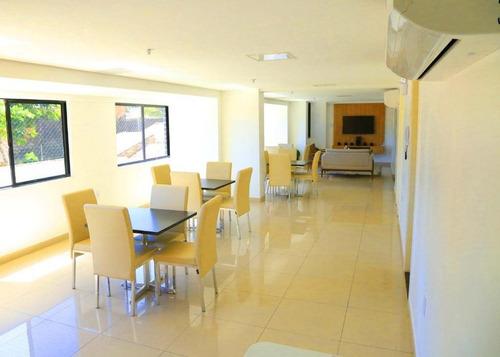 Apartamento Com 2 Dormitórios À Venda, 52 M² Por R$ 380.000,00 - Benfica - Fortaleza/ce - Ap2021