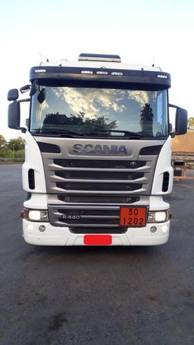 Imagem 1 de 7 de Scania R440 6x4 + Tanque Bitrem Randon 10/11 44 M³