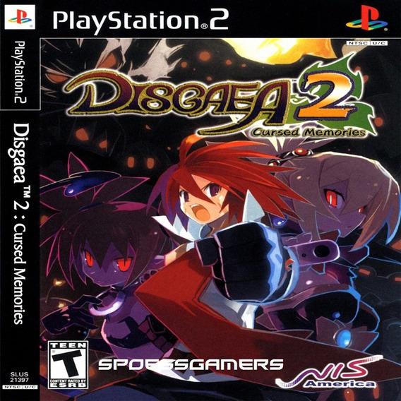 Disgaea 2: Cursed Memories Ps2 Desbloqueado Patch