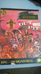 Aventuras Fantásticas_out Of The Pit: Livro Dos Monstros