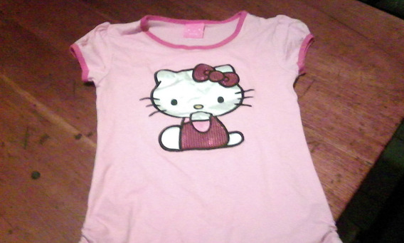 Remera Nena Hello Kitty Original Talle L 12-14