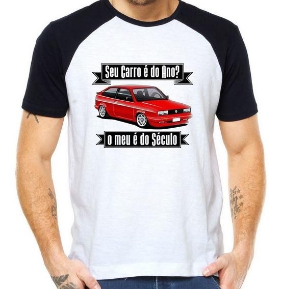 Camiseta Raglan Seu Carro É Do Ano? O Meu É Do Século