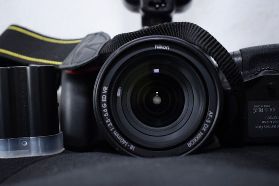 Câmera Fotográfica Nikon D7200 Semi Nova