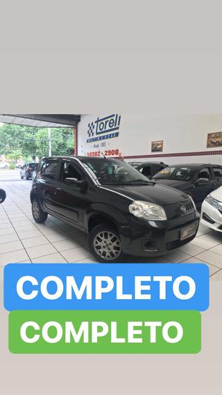 Fiat Uno 1.0 Vivace 2014 Completo Novíssimo! Baixa Km.