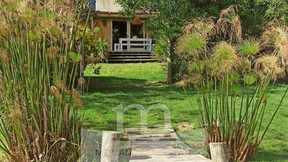 Venta La Barra Casa Con Revestimiento Interior De Barro-ref:92