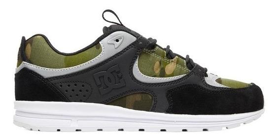 Tênis Dc Shoes Kalis Lite Se Imp Black/camo Print - Promoção