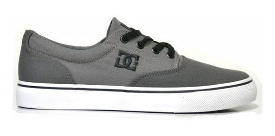 Tênis Dc Shoes New Flash Evo 2 Tx Cinza