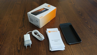 Celular Motorola G4 Dual Sim Con Accesorios Completos Y Caja