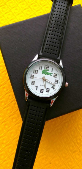 Kit Relógio Lacoste Masculino