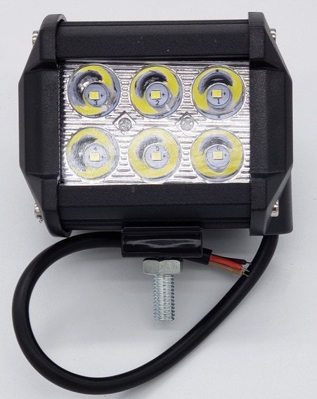 Juego Faros 6 Led Dually Flash- Fijo